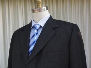 Two Piece suit in P&B Universal