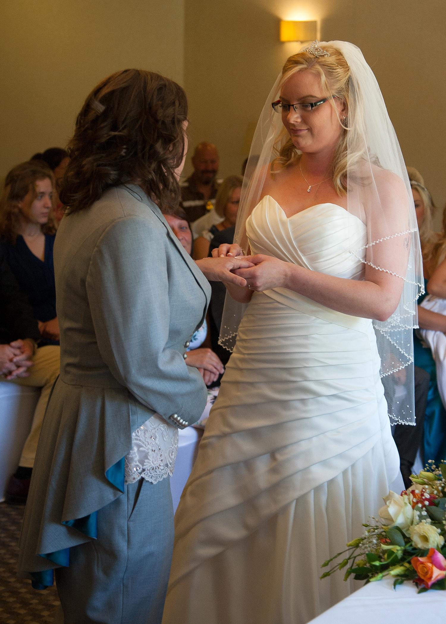 Incredible Lesbian Wedding Suit