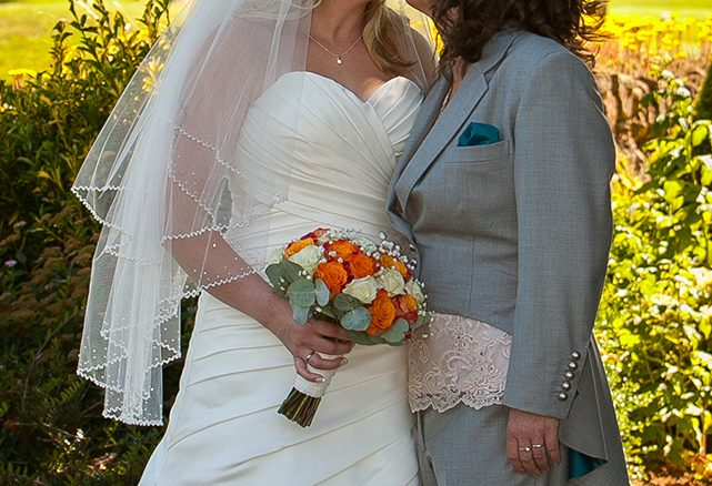 Amy's Incredible Lesbian Wedding Suit
