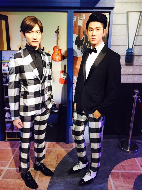 TVXQ Gingham suits