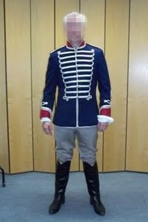 hussar jacket costume