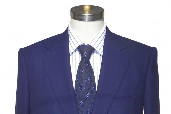 David's Bespoke Blue Blazer
