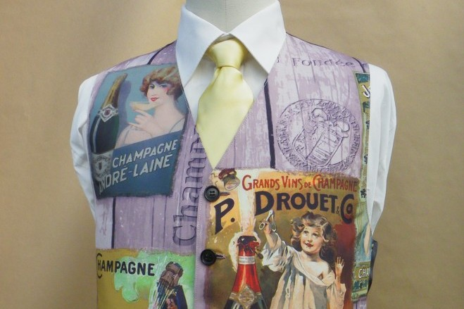 Paul's Waistcoat from a Tablecloth
