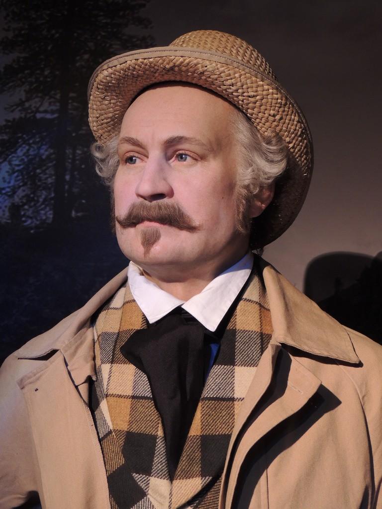 John Sutter - Madame Tussauds San Francisco bespoke waistcoat and trousers