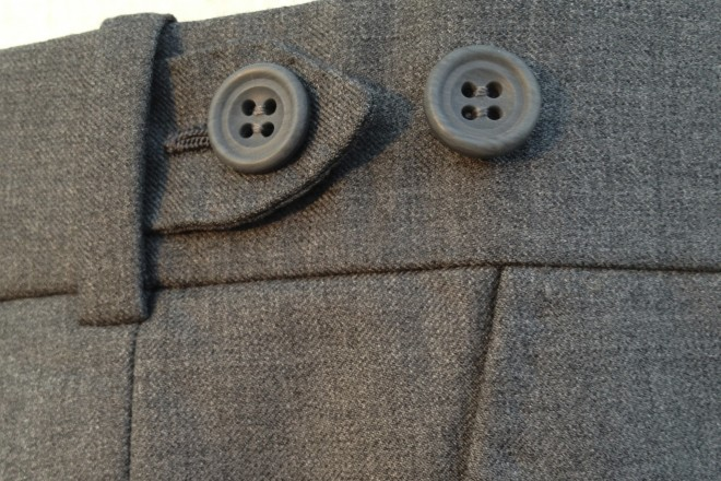 David's Bespoke Trousers with Hidden Adjusters