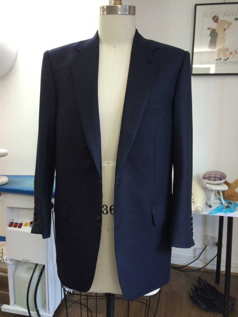 Blue Business Suit