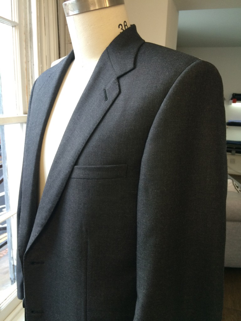 Martin's Grey Business Suit