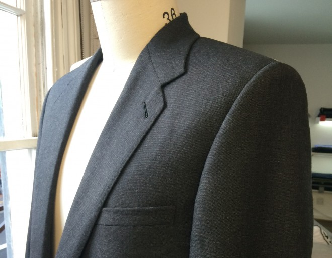 Martin's Grey Business Suit
