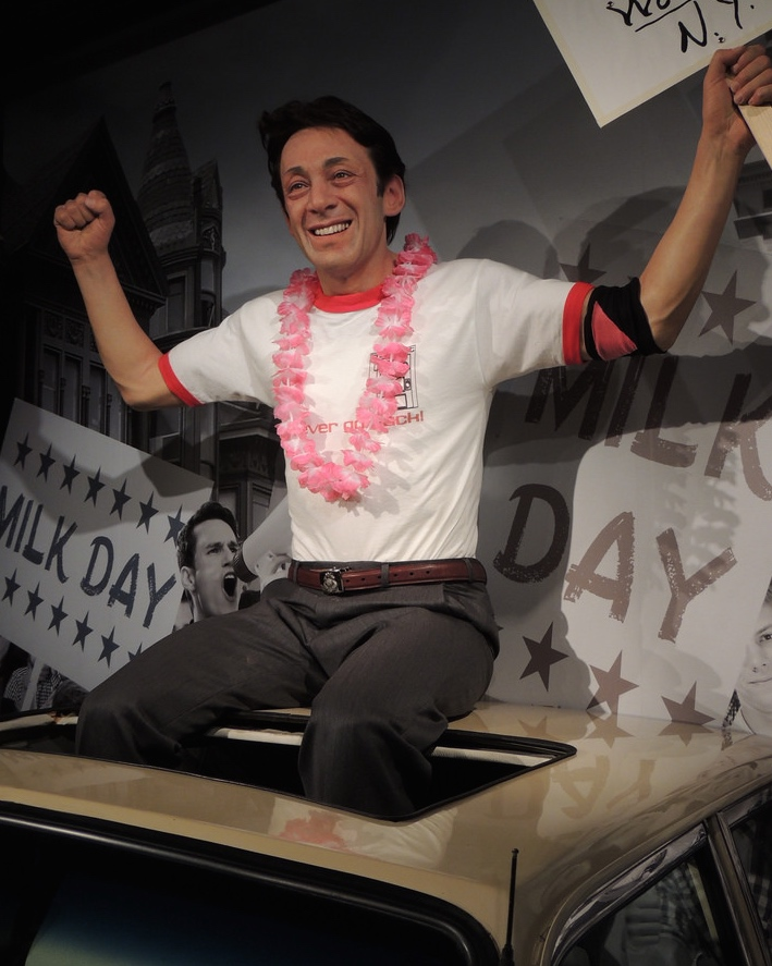 Harvey Milk for Madame Tussauds San Francisco