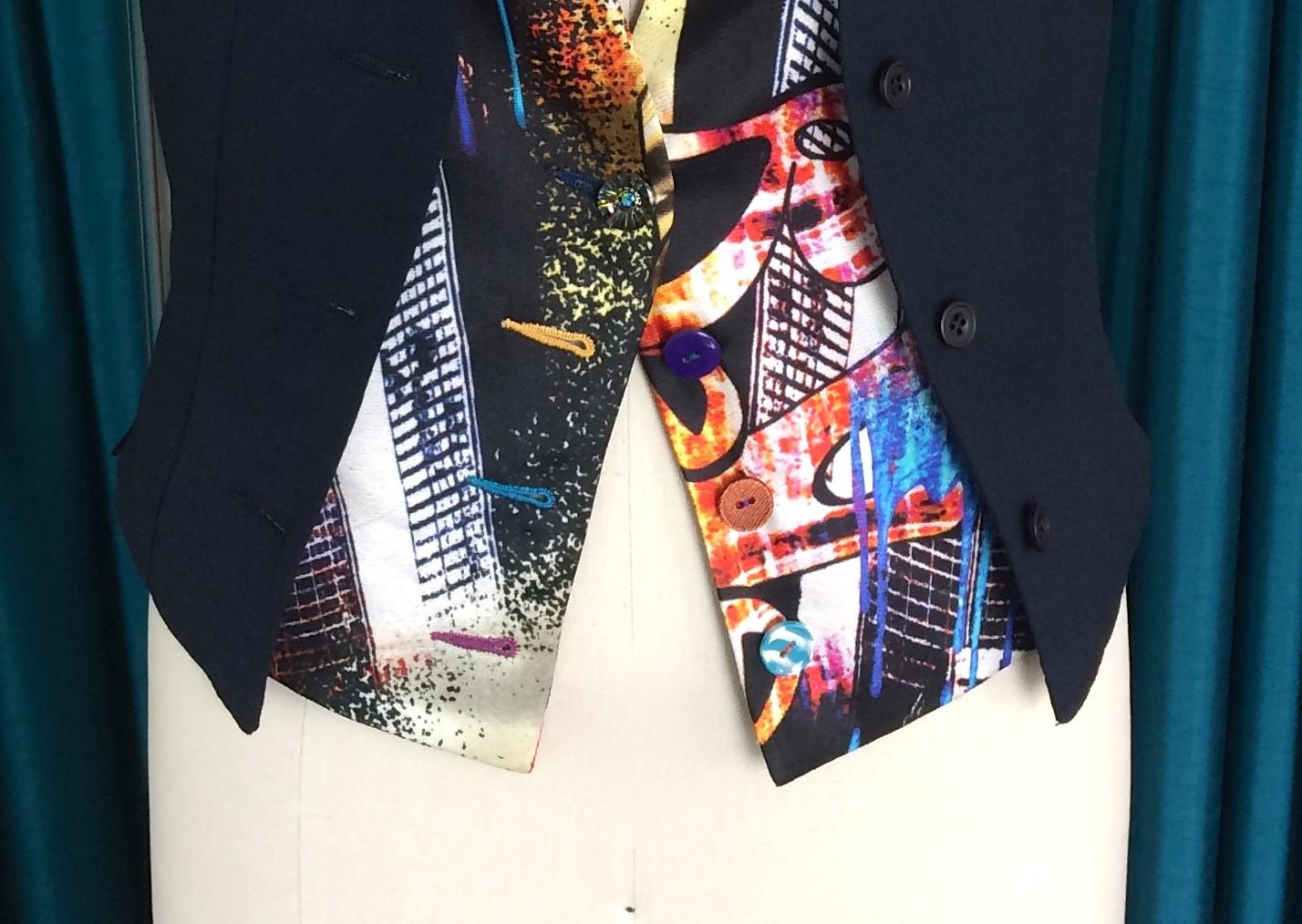 Ladies Double-Fronted Bespoke Waistcoat