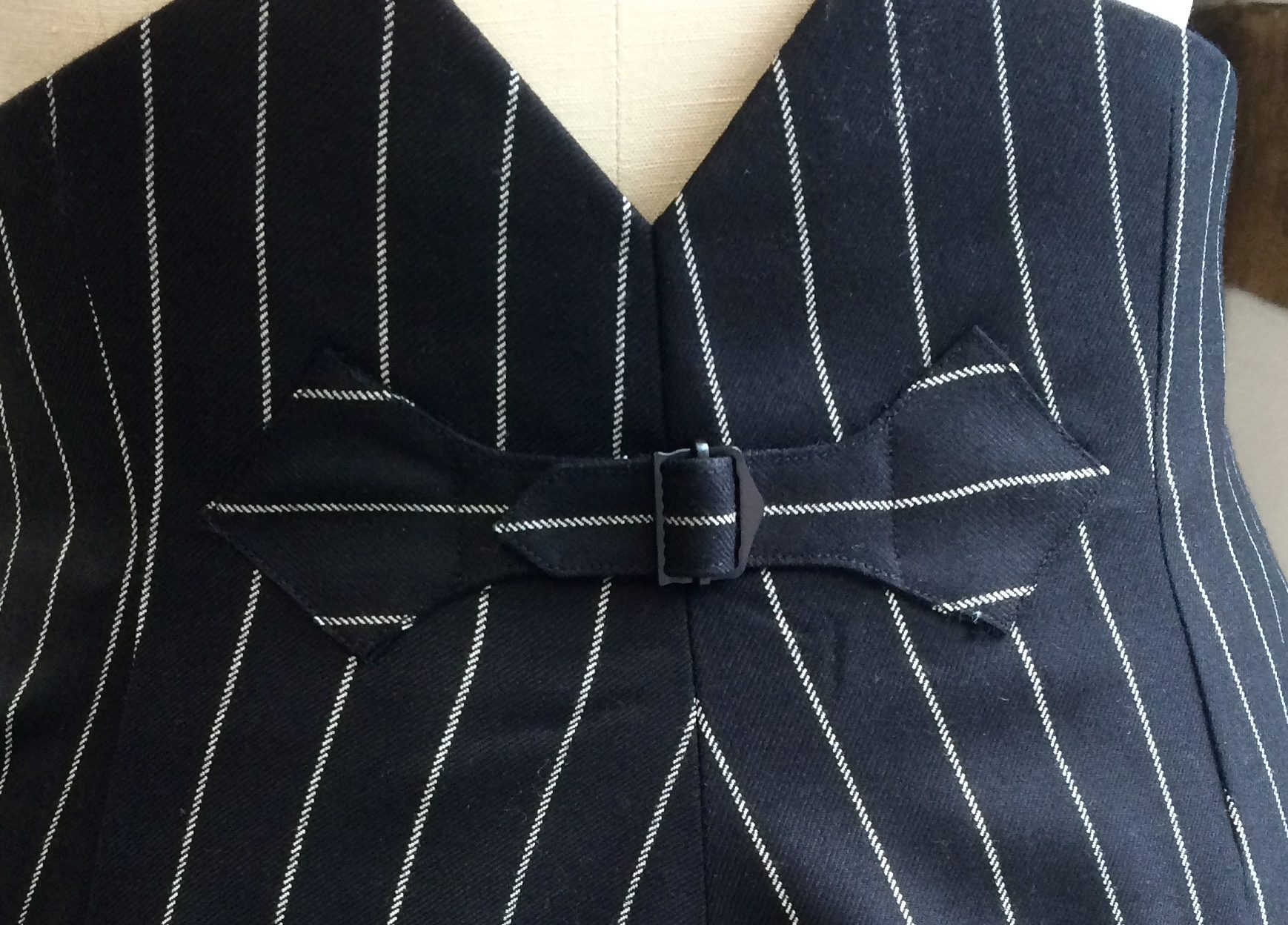 Bespoke Ladies Gangster Pinstripe Trousers