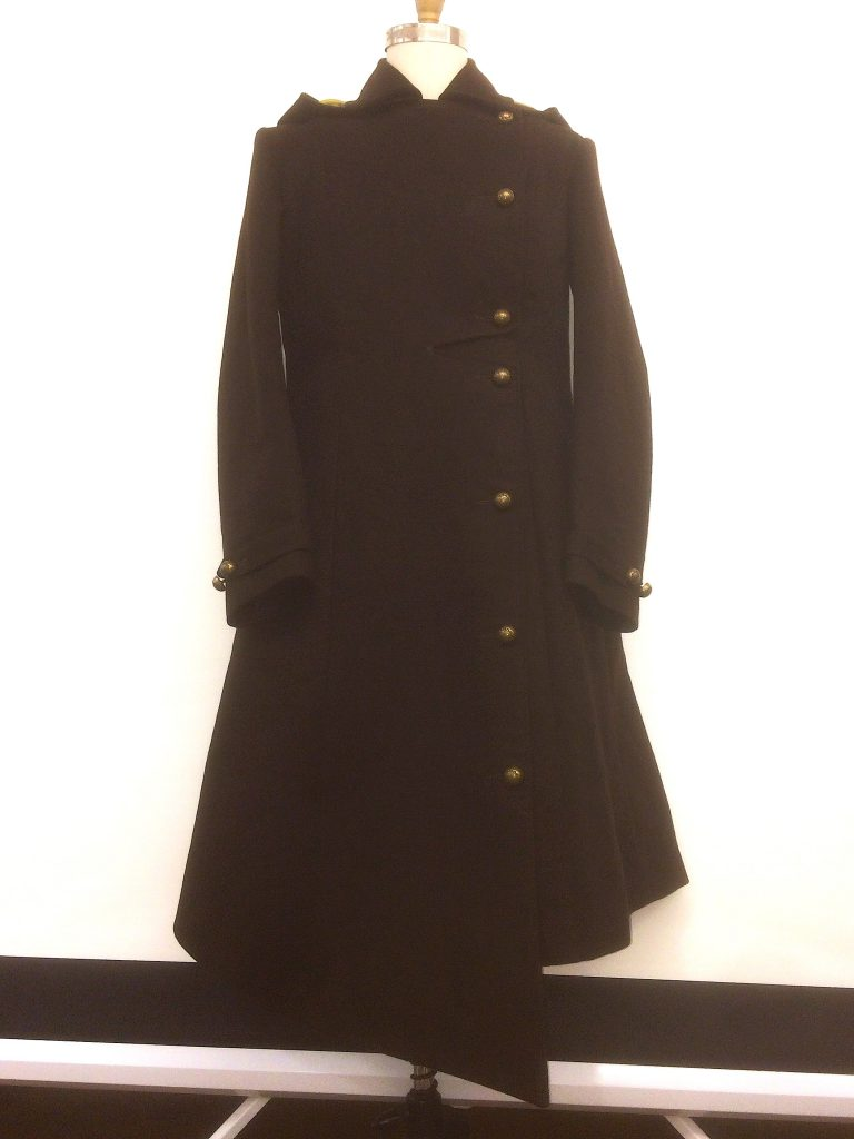 Asymetrical  Androgynous Coat