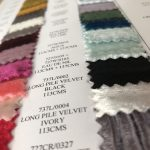 Long Pile Silk Velvet