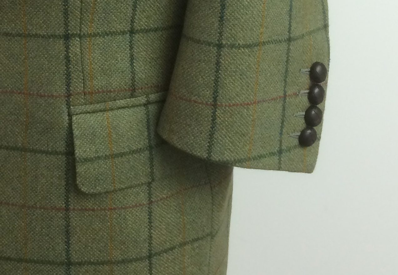 Paul's Green Tweed Jacket