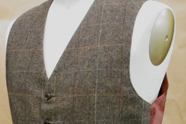 Making a Waistcoat from a Jacket